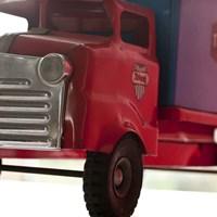 Red Truck Fine-Art Print