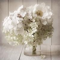 White Flower Vase Fine-Art Print