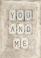 You And Me Fine-Art Print
