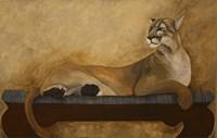 She's a Cougar Fine-Art Print