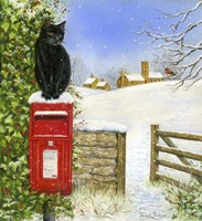 Christmas Post Box Fine-Art Print