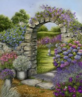 Cottage Garden Fine-Art Print