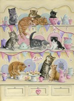 Kittens On Dresser Fine-Art Print