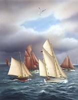 Sailing Oldtimers Fine-Art Print