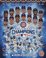 Chicago Cubs 2016 World Series Champions Composite Fine-Art Print
