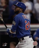 Dexter Fowler Home Run Game 7 of the 2016 World Series Fine-Art Print