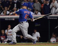 Miguel Montero RBI Single Game 7 of the 2016 World Series Fine-Art Print