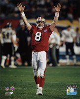Steve Young Super Bowl XXIX Action Fine-Art Print