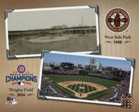 West Side Park / Wrigley Field Composite Fine-Art Print