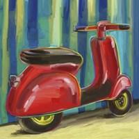 Pop Scooter Fine-Art Print