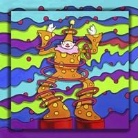 Pop Art Clown Fine-Art Print
