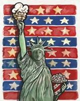Popcorn Statue Of Liberty Fine-Art Print