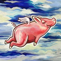 Flying Pig Fine-Art Print