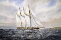 """Schooner  """"Atlantic"""" Fine-Art Print"""