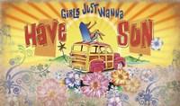 Girls Wanna Sun Fine-Art Print