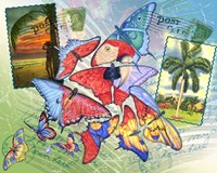 Butterfly Postcards Fine-Art Print