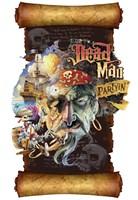 Dead Man Partyin Scroll Fine-Art Print