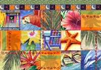 Tropical Quilt Mosaic Fine-Art Print