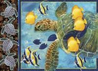 Turtle Hatchlings Fine-Art Print