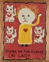 Cat Lady Fine-Art Print