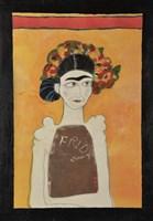 Frida Kahlo White Fine-Art Print