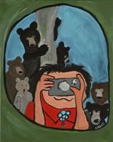 Smile Bears Tree Fine-Art Print