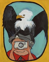 Smile Eagle Fine-Art Print