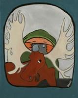 Smile Moose Fine-Art Print