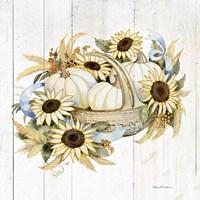 Autumn Elegance IV Gold Fine-Art Print