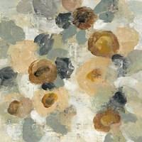Neutral Floral Beige III Fine-Art Print