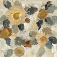 Neutral Floral Beige II Fine-Art Print
