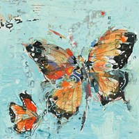Monarch II Light Blue Fine-Art Print