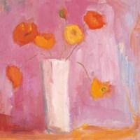Mandarin Poppies Fine-Art Print