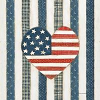 Americana Quilt VI Fine-Art Print