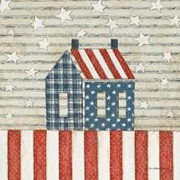 Americana Quilt V Fine-Art Print
