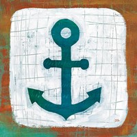 Ahoy III Red Blue Fine-Art Print
