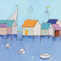 Boat House Row Fine-Art Print