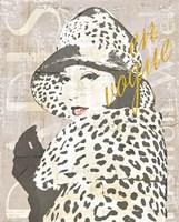 Fashion Week Paris Halftone II Fine-Art Print