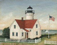 Lighthouse Keepers Home Fine-Art Print