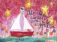 Adventure Awaits - Sailboat Fine-Art Print