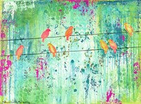 Birds On A Wire Fine-Art Print