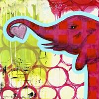 Hot Pink Elephant Fine-Art Print