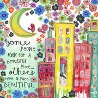 Make A Place Beautiful Fine-Art Print
