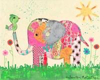 Mosaic Elephant Fine-Art Print