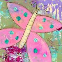Pink Butterfly Fine-Art Print