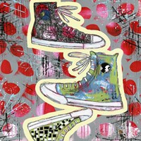 Sneaker Tower Fine-Art Print