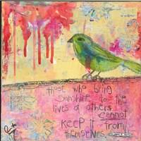 Sunshine Bird Fine-Art Print