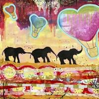 The Elephant Walk Fine-Art Print