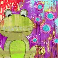 Whimsical Frog Fine-Art Print