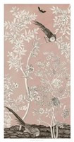 Blush Chinoiserie II Fine-Art Print